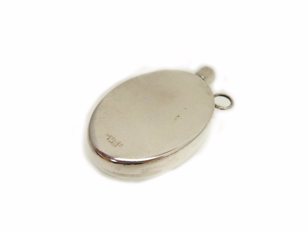 "Image of ""Hermes 925 Sterling Silver Perfume Bottle Top Pendant"""