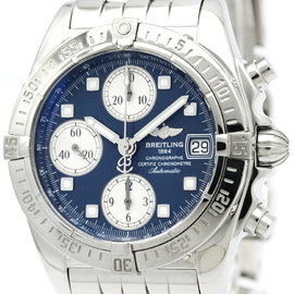 Breitling Cockpit A13358 Stainless Steel Automatic 39mm Mens Watch