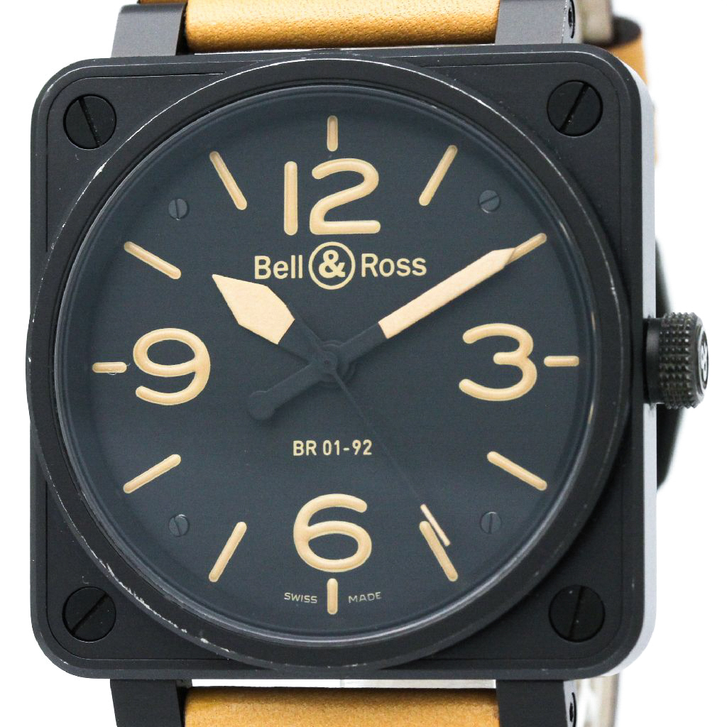 """Image of """"Bell & Ross Heritage Br01-92 Stainless Steel 46mm Mens Watch"""""""