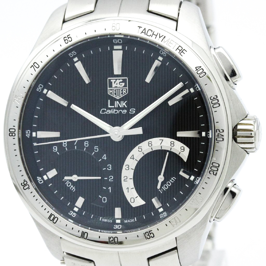 "Image of ""Tag Heuer Link Cat7010 Stainless Steel 45mm Mens Watch"""