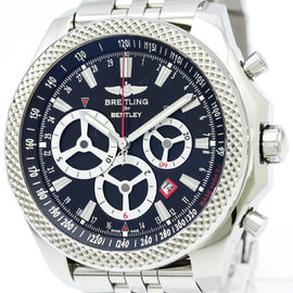 Breitling Bentley A25366 Stainless Steel Automatic 50mm Mens Watch
