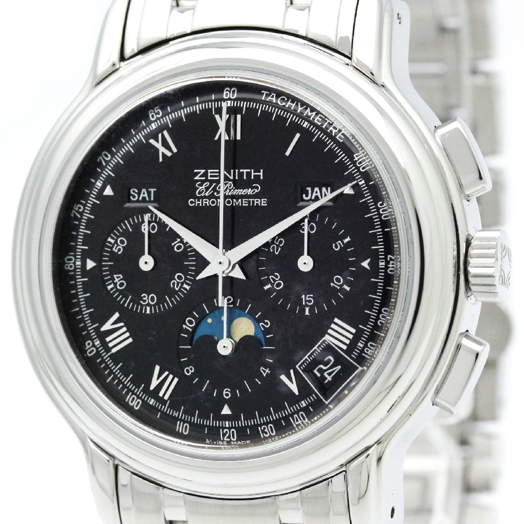 """Image of """"Zenith Chronomaster 02.0240.410 Stainless Steel 40mm Mens Watch"""""""