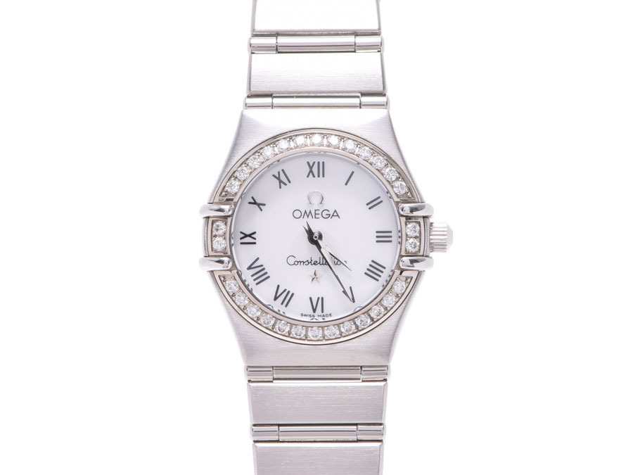 "Image of ""Omega Constellation 1466.61.00 Stainless Steel 21mm Womens Watch"""