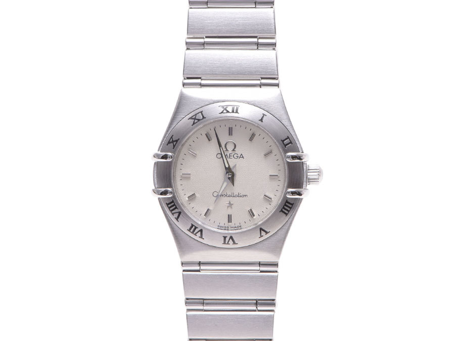 """Image of """"Omega Constellation Stainless Steel Ivory Dial Quartz 21mm Womens"""""""