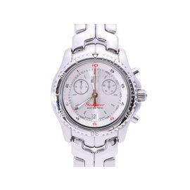 Tag Heuer Link SeaRacer CT1114 Stainless Steel Silver Dial Quartz 40mm Mens Watch