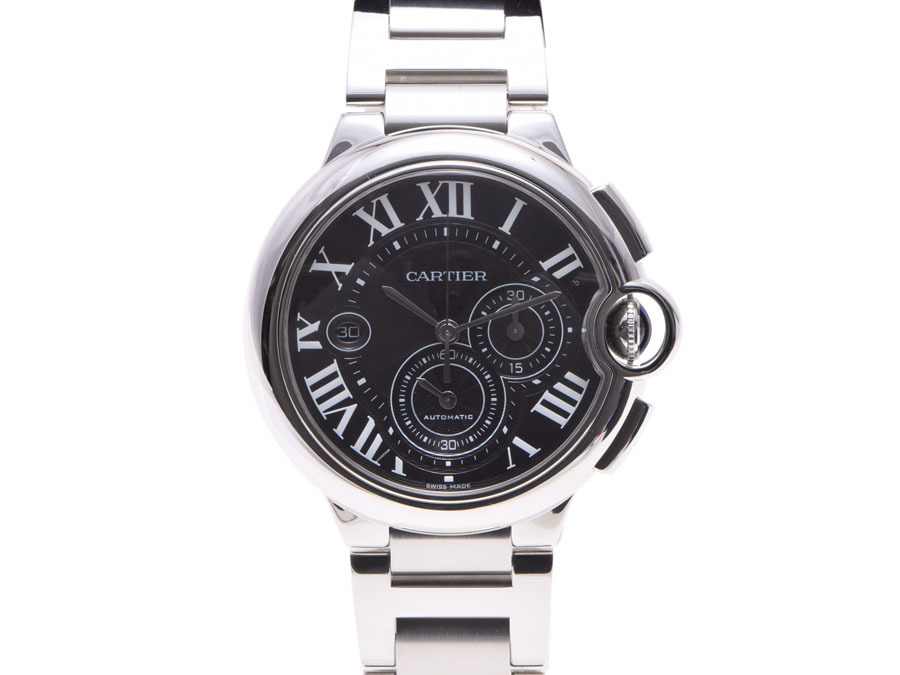 "Image of ""Cartier Ballon Bleu W6920025 Stainless Steel Automatic 43mm Mens Watch"""