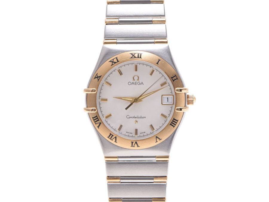 """Image of """"Omega Constellation Stainless Steel / Yellow Gold 33mm Mens Watch"""""""