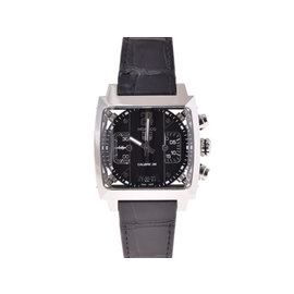 Tag Heuer Monaco Cal 5113 Stainless Steel Mens 40mm Watch
