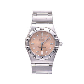 Omega Constellation 1564.66 Stainless Steel with Diamond 22mm Womens Watch
