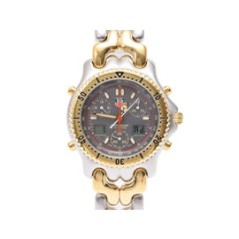 Tag Heuer Cg1122.bb0424 Gold Plated Stainless Steel 39mm Mens Watch