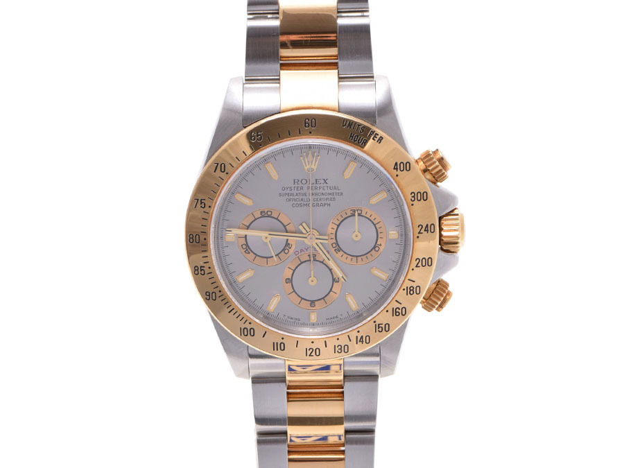 "Image of ""Rolex Daytona 16523 Stainless Steel & Yellow Gold Gray Dial Automatic"""
