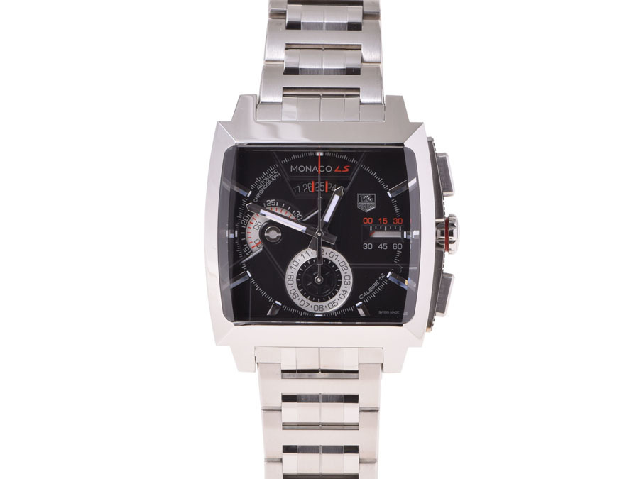 "Image of ""Tag Heuer Monaco L 2110.ba 0781 Stainless Steel Mens 40mm Watch"""