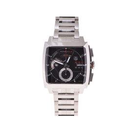 Tag Heuer Monaco L 2110.ba 0781 Stainless Steel Mens 40mm Watch