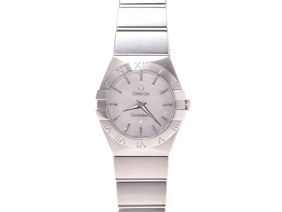 "Image of ""Omega Constellation 123.10.24.60.05.001 Stainless Steel 23mm Womens"""