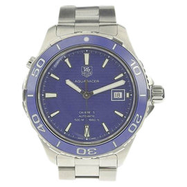 Tag Heuer Aquaracer WAK 211 Stainless Steel Automatic 42mm Mens Watch