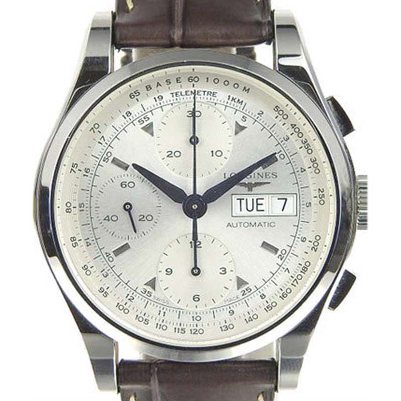 """Image of """"Longines Heritage L2.747.4 Stainless Steel with Silver Dial Automatic"""""""