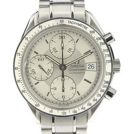Omega Speedmaster 3513.30 Stainless Steel with Silver Dial 36mm Mens Watch
