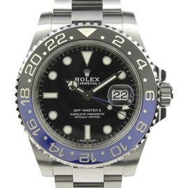 Rolex GMT Master 116710BLNR Stainless Steel Black Dial Automatic 42mm Mens Watch