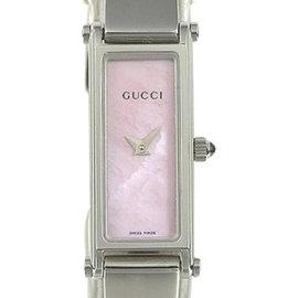 Gucci 1500l Stainless Steel Quartz 12mm Womens Watch