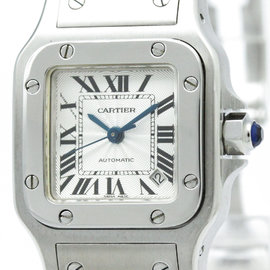 Cartier Santos Galbee W20054D6 Stainless Steel Automatic 24mm Womens Watch