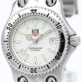 Tag Heuer Sel WG1312 Stainless Steel Quartz 28mm Womens Watch