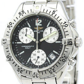 Breitling Colt A53035 Stainless Steel Quartz 38mm Mens Watch