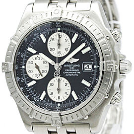 Breitling Crosswind A13355 Stainless Steel Automatic 44mm Mens Watch
