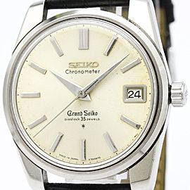 Seiko Grand Seiko 43999 Stainless Steel Manual Winding 36mm Mens Watch