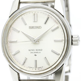 Seiko King Seiko 44-9990 Stainless Steel Hand-Winding 36mm Mens Watch