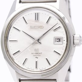 Seiko Grand Seiko 4522-8000 Stainless Steel Manual Winding 36mm Mens Watch