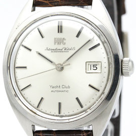 IWC Yacht Club R811A Stainless Steel Automatic 36mm Mens Watch
