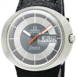 Omega Dynamic Stainless Steel / Leather Automatic 41mm Mens Watch
