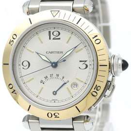 Cartier Pasha W31012H3 Stainless Steel 38mm Mens Watch