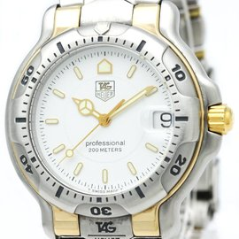 Tag Heuer 6000 WH1151 Stainless Steel 39mm Mens Watch
