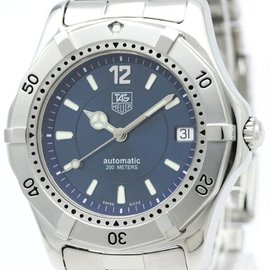 Tag Heuer 2000 WK2117 Stainless Steel 38mm Womens Watch