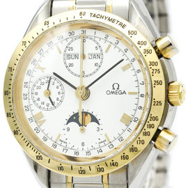 Omega Speedmaster 3336.20 Stainless steel & 18K Yellow Gold Automatic 39mm Mens Watch
