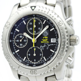 Tag Heuer Link CT2115 Stainless Steel Automatic 40mm Mens Watch