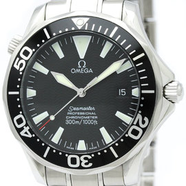 Omega Seamaster 2254.50 Stainless Steel Black Dial Automatic 41mm Mens Watch