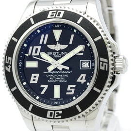 Breitling Superocean A17364 Stainless Steel Automatic 42mm Womens Watch