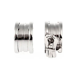 Bulgari B.zero1 18K White Gold Earrings