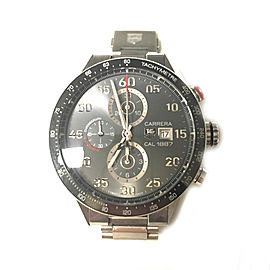Tag Heuer Carrera Calibre 1887 Stainless Steel 43mm Watch