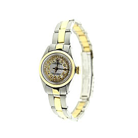 Rolex Two-Tone 18K Yellow Gold & Stainless Steel Oyster Perpstual 24mm Watch