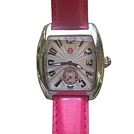 Michele Mini Urban Hot Pink Watch