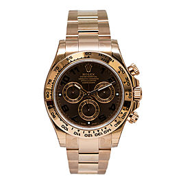 Rolex 116505 Cosmograph Daytona Men's Rose Gold Watch