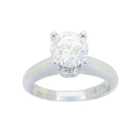 Platinum Gordon's Cut Platinum 1.00ct Solitaire Diamond Ring
