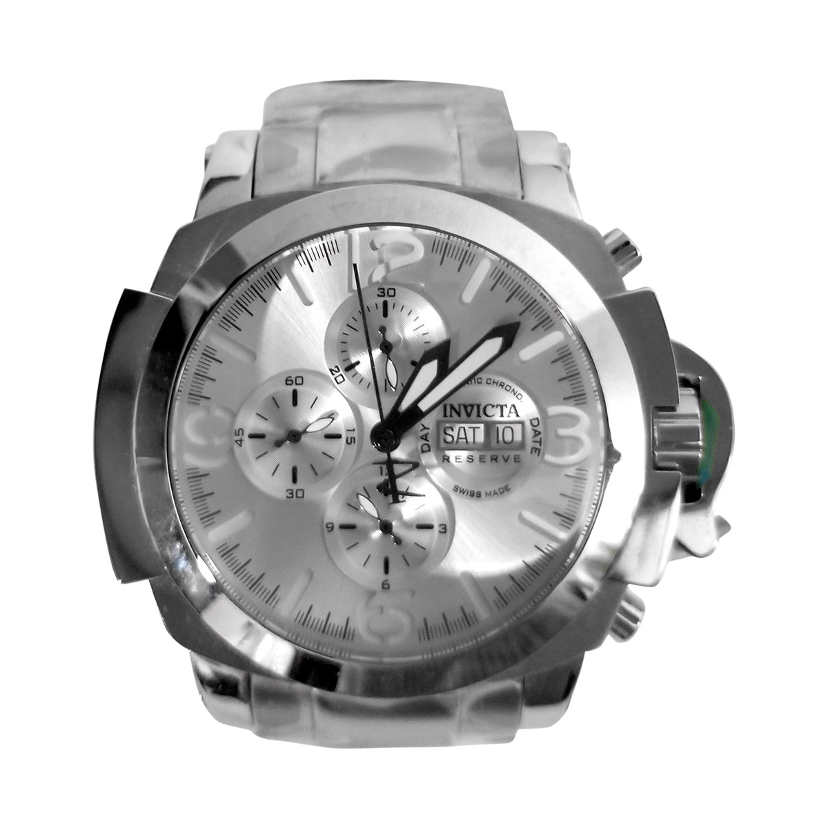 """Image of """"Invicta Man of War Sw500 Stainless Steel Automatic 53mm Mens Watch"""""""