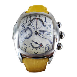 Invicta Lupah 2231 Leather Band Automatic 44mm Mens Watch