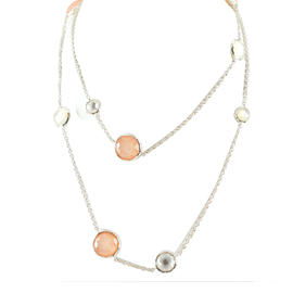 IPPOLITA Long Blush Mother of Pearl Wonderland Chain Necklace