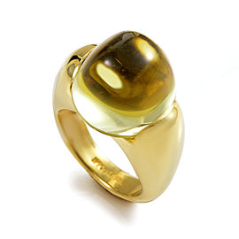 Ippolita 18K Yellow Gold Lemon Quartz Ring