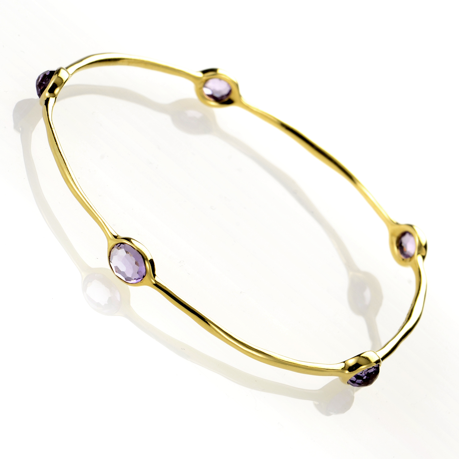 "Image of ""Ippolita Rock Candy Dark Amethyst Lollipop Bangle"""